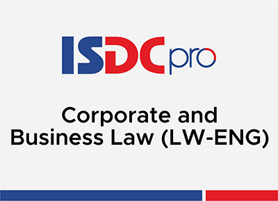 Corporate and Business Law Sept 2020 - June 2021